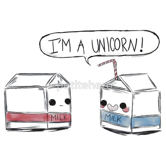 Cute! Unicorn Milk!