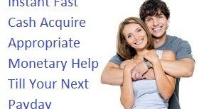 Instant Fast Cash Acquire Appropriate Monetary Help Till Your Next Payday | Scott Hilary | Pulse | LinkedIn