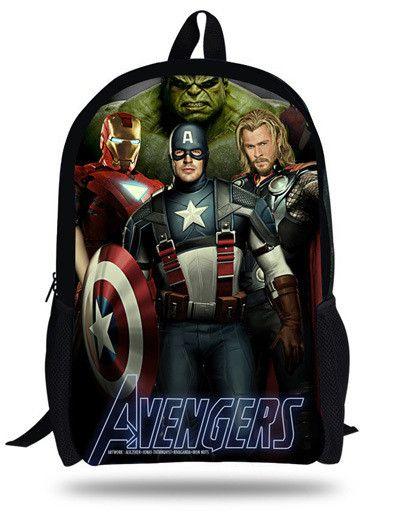16-inch Mochila School Kids Backpack 1D One Direction Bag School For  Teengers Boy   Girls Bag Printing Mochila Escolar Infantil e1b70eba558e2