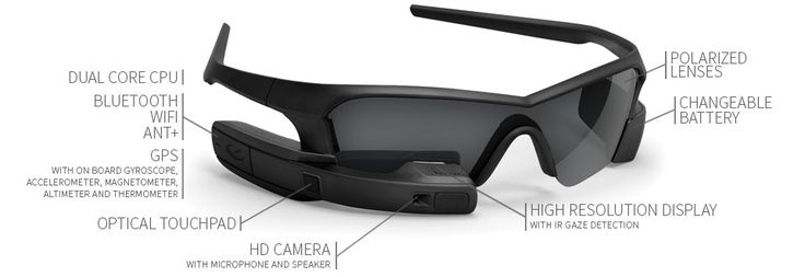 Wearable Computer  Glass - Recon Jet