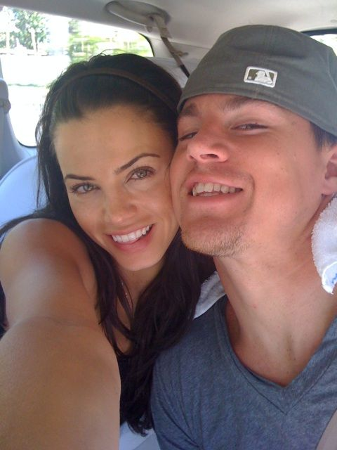 Channing Tatum and Jenna Dewan-Tatum --- they're so cute