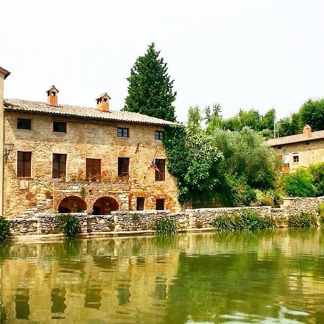 Bagno Vignoni nel Toscana