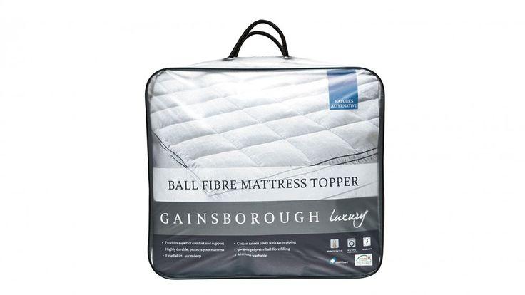 Gainsborough Luxury Ball Fibre Queen Mattress Topper