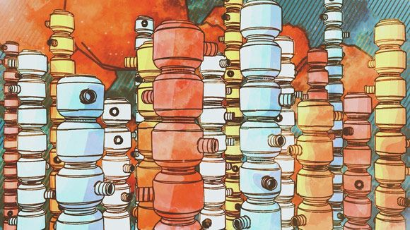 Cinema 4D - Watercolor Effect with Sketch and Toon Tutorial