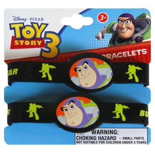 Toy Story Rubber Bracelets Party Accessory @ niftywarehouse.com #NiftyWarehouse #Toy #Story #Movie #ToyStory #Pixar