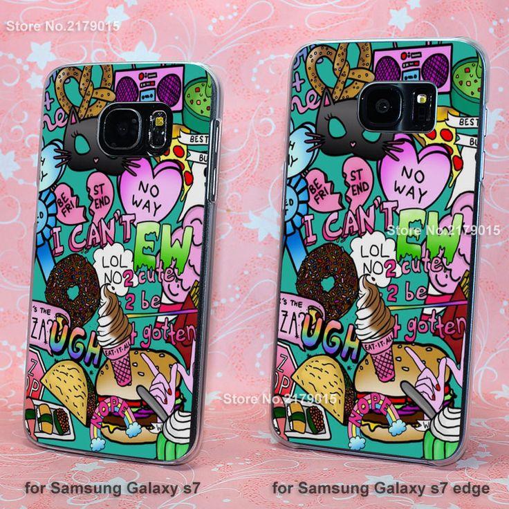 Мы это сердце обои милый прозрачный ясно твердый переплет Чехол для Samsung Galaxy s3 s4 s5 mini s6 s7 края