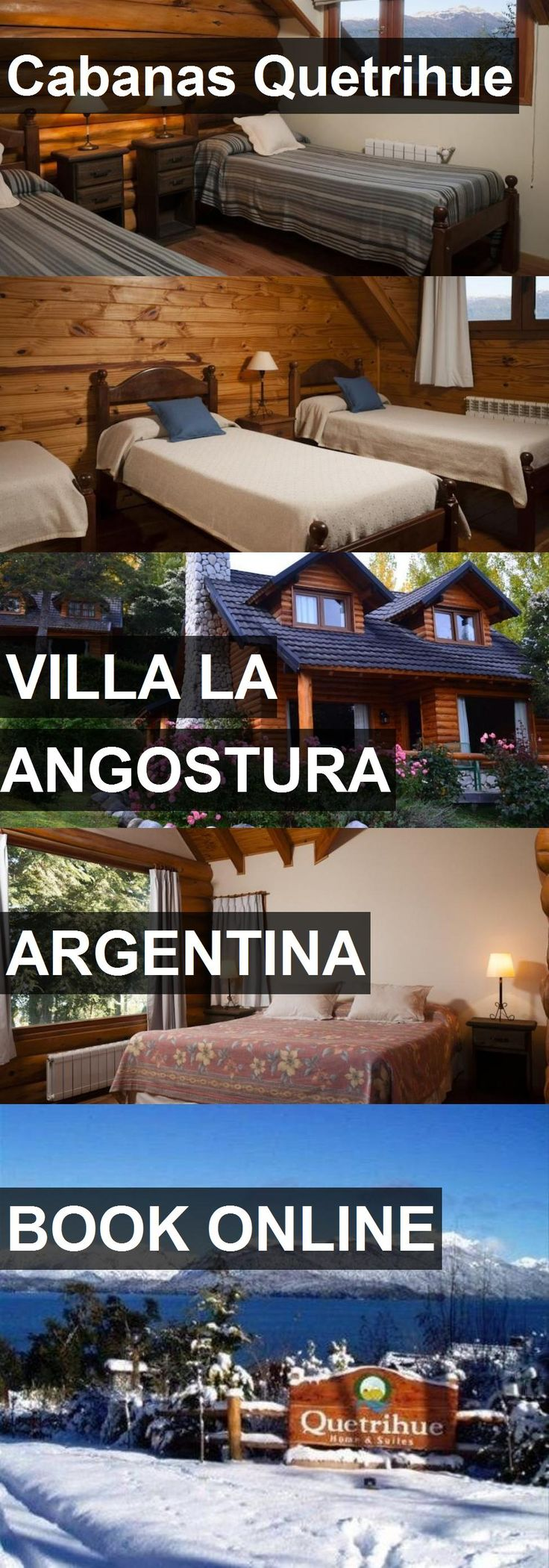 Hotel Cabanas Quetrihue in Villa la Angostura, Argentina. For more information, photos, reviews and best prices please follow the link. #Argentina #VillalaAngostura #travel #vacation #hotel
