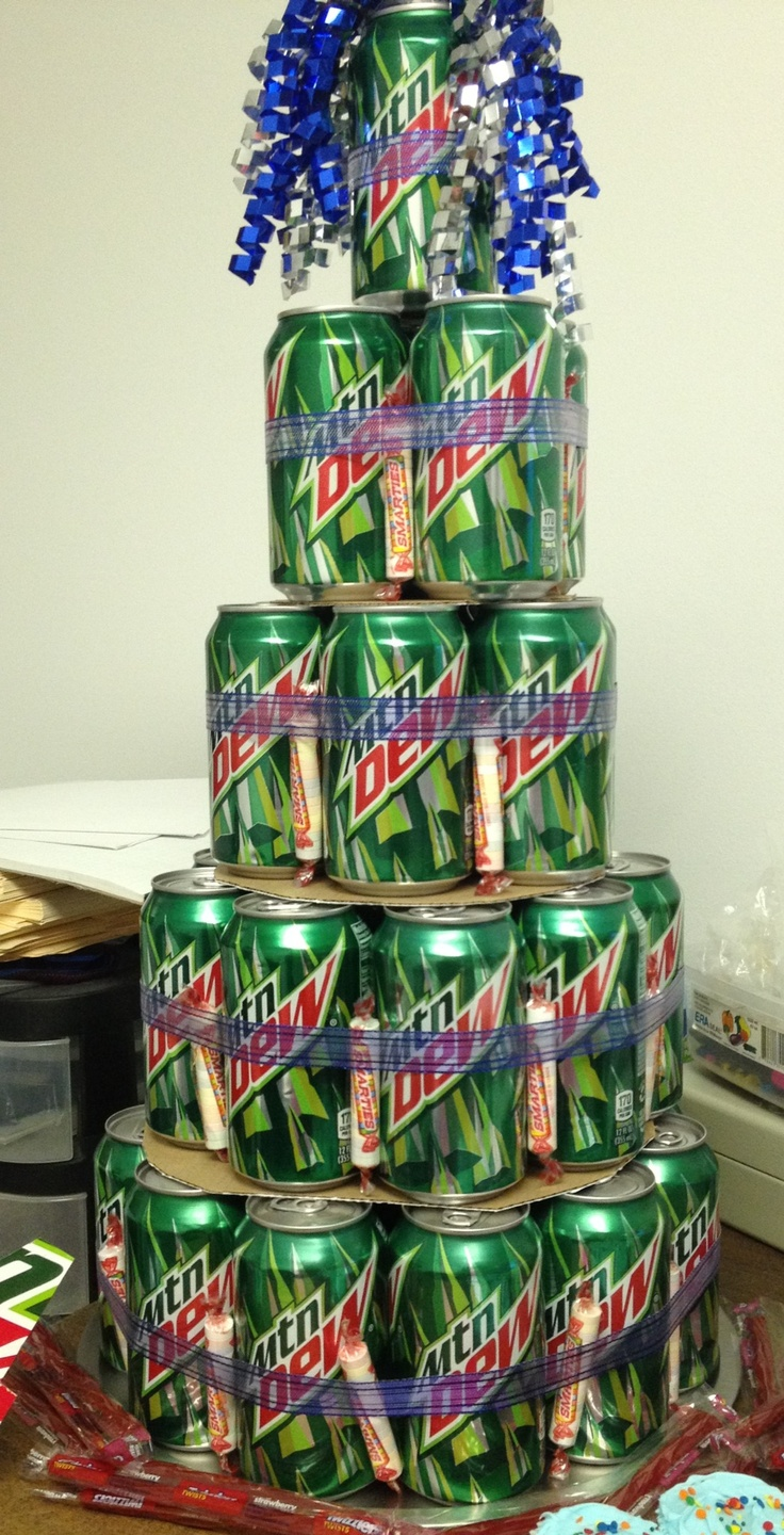 Soda Can Cake Xmas Gift Ideas Going Homemade This Year