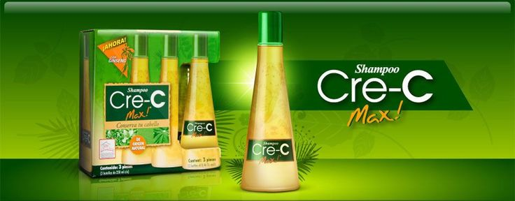 1 Kit Shampoo Cre-C Max Crece Crec - As Seen On Tv- Caida De Cabello- Oferta !