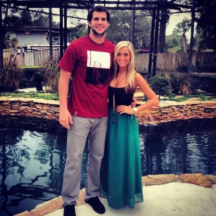 Blake Bortles and Lindsey Duke