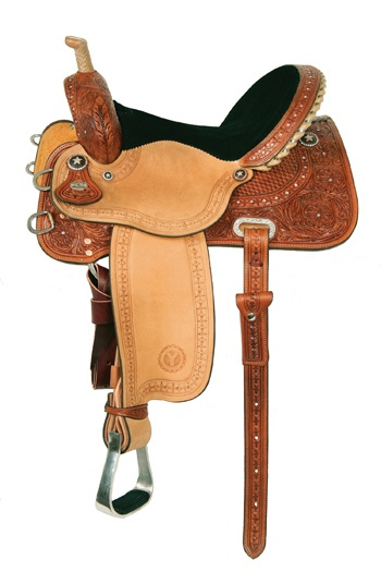 Some day I want to own this saddle! i really really reallly LOVE IT!!!  Kelly Kaminski Big Dreams Shining Star Barrel Racing Saddle by Circle Y