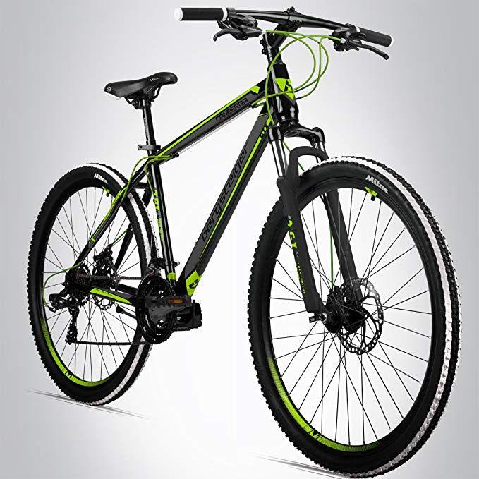 Bergsteiger Canberra 29 Zoll Mountainbike Geeignet Ab 160 Cm Scheibenbremse Shimano 21 Gang Schaltung Gabel Federun Herren Fahrrad Mountainbike Bergsteigen
