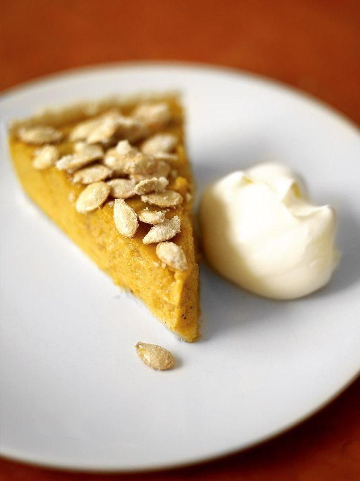 Pumpkin pie #Jamie'scookingtips