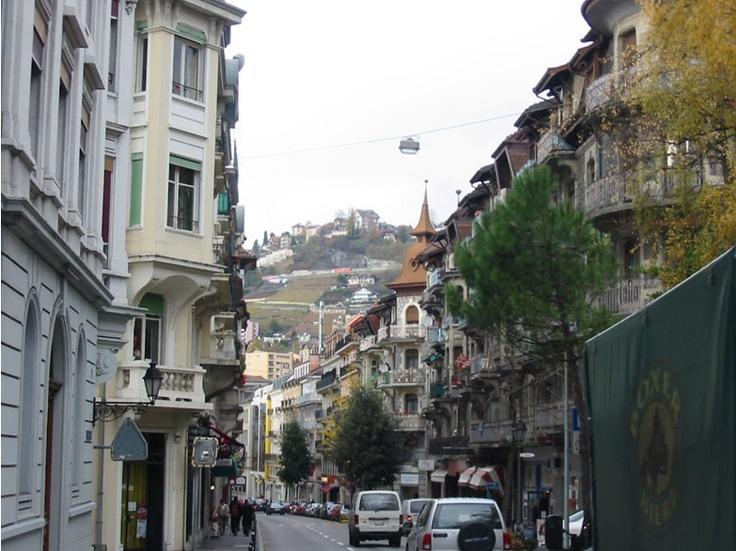 Streets of Montreux, Switzerland