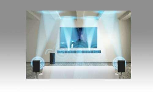 Samsung sorgt mit HW-K950 für Super-Sound beim Fernsehen  Durch das HW-K950-System von Samsung erwacht künftig das Wohnzimmer zum Leben. Denn das Heimkino-Soundsystem wird durch Dolby Atmos unterstützt.  #smarthome #tech #smarttech #smart #samsung #lautsprecher #sound #smarttv