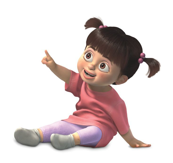 Boo in Monsters Inc. #innocent #archetype #brandpersonality