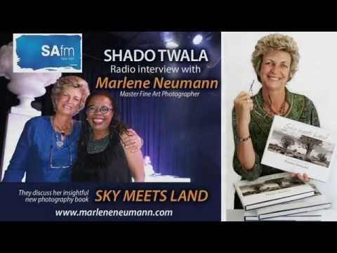 LISTEN to Marlene's INTERVIEW with Shado Twala on SAFM. An insight into her book SKY MEETS LAND...!