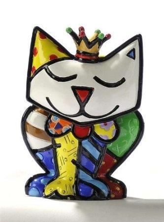 """Amazon.com: Miniature Cat """"Princess"""" Figurine By Romero Britto: Home & Kitchen"""