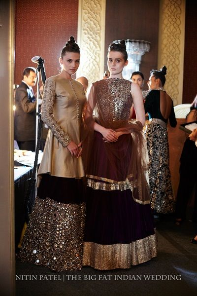 Manish Malhotra's Ombre Gold Collection {India Couture Week 2014} - Gallery