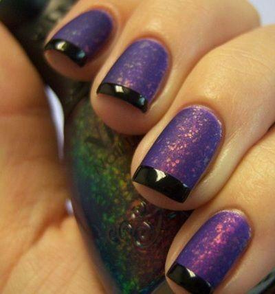 цвет фиолетовый лак для ногтей 2016