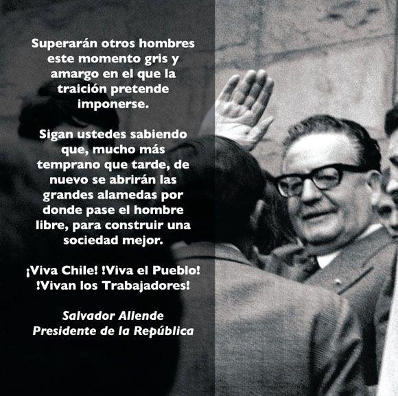 """Salvador """"Compañero"""" Allende"""