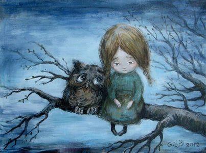painting by Nino Chakvetadze
