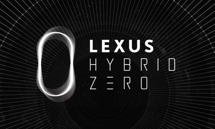 LEXUS HYBRID ZERO BRANDING