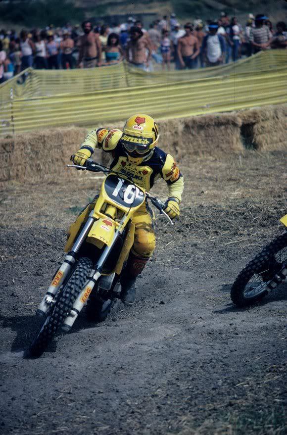 Mark Barnett | Motocross '70-'80 years | Pinterest