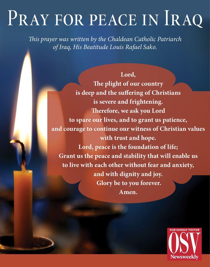 pray for iraqi christians | prayer for Iraq