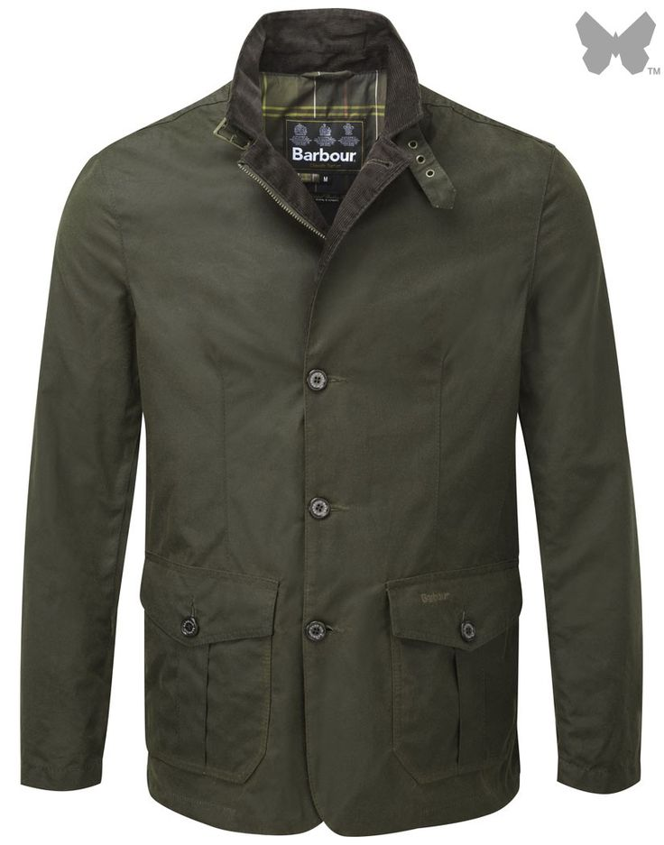 Barbour Men's Lutz Waxed Jacket – Olive MWX0566OL51 | Country Attire