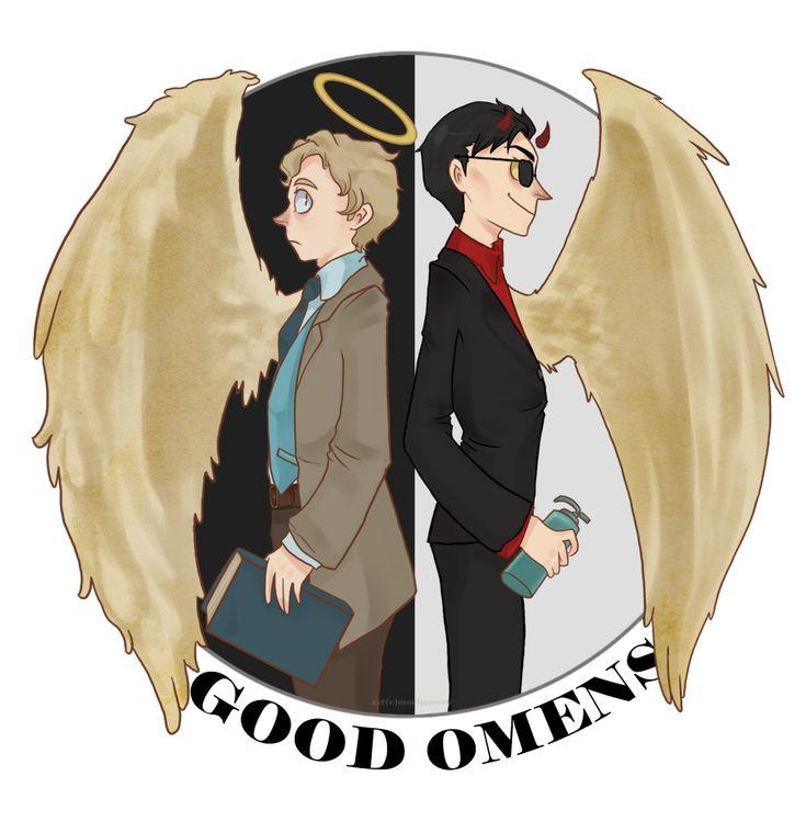 Good Omens by ~Mochamura on deviantART