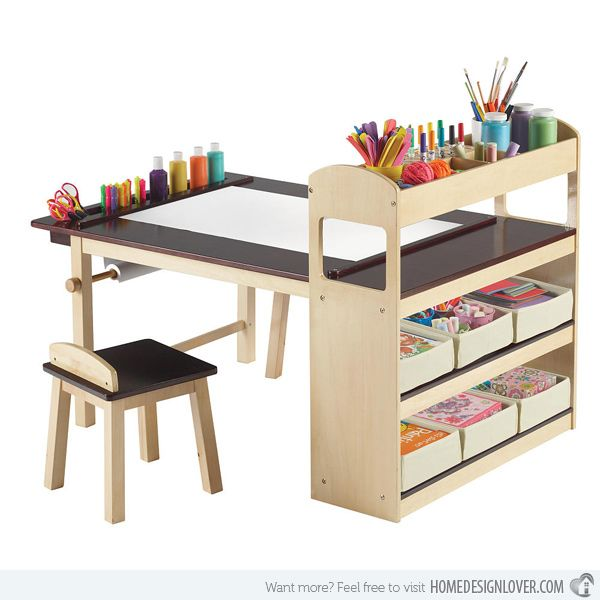 Unique School Table with Storage