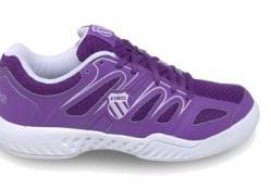 Zapatilla de padel super ligera y cómoda de K-swiss . Modelo Calabazas. http://sascoesports.com/mujer-2