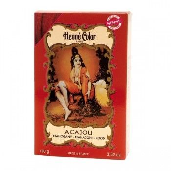 henn color p colorante acajou - Coloration Chatain Acajou