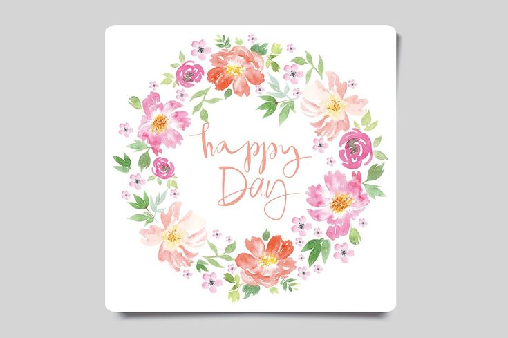 Set of watercolor greeting cards by ArtStore on @creativemarket