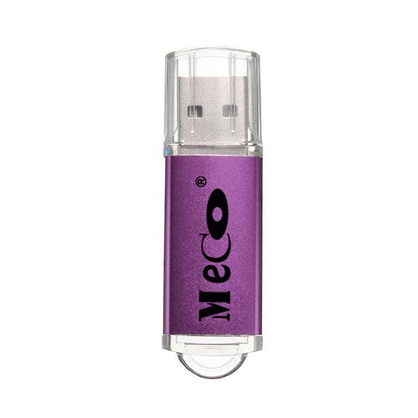 Usb2.0 8g de bonbons de couleur couvercle transparent lecteur flash USB MECO original