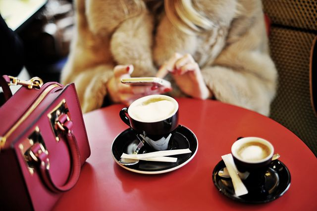 It's good to make a coffee break somewhere in between shops! http://goo.gl/ecDxcK