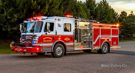 new Rosenbauer engine for South Elgin   chicagoareafire.com