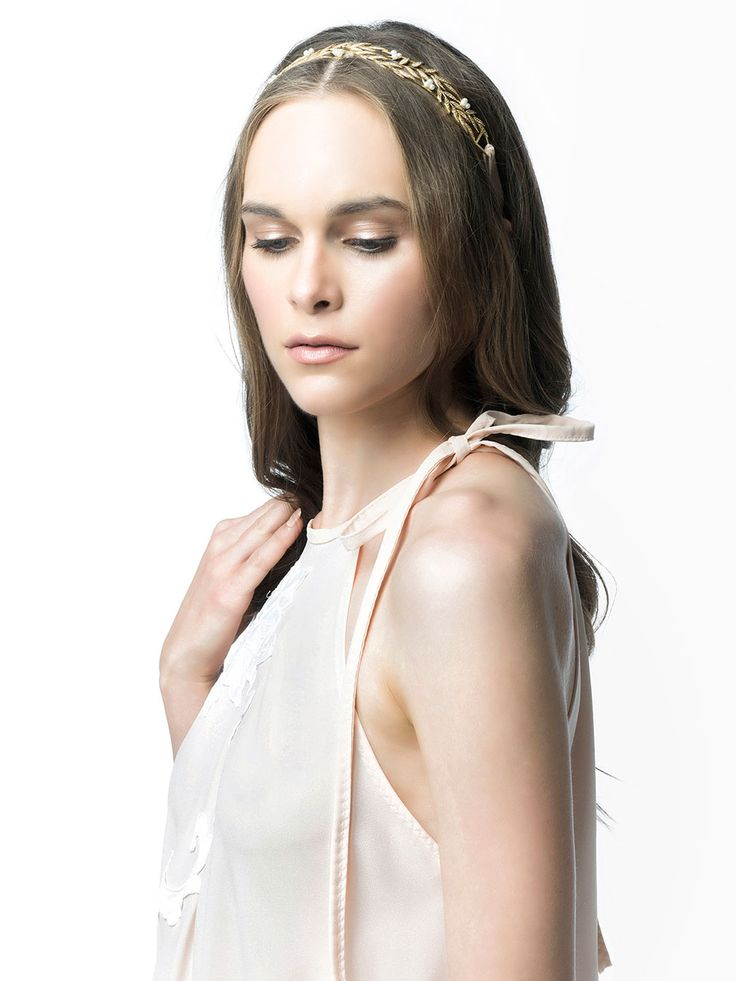 SS 15 Collection by Andria Thomais   #SS15 #jewelry #beautiful #accessorice #model  #headpiece