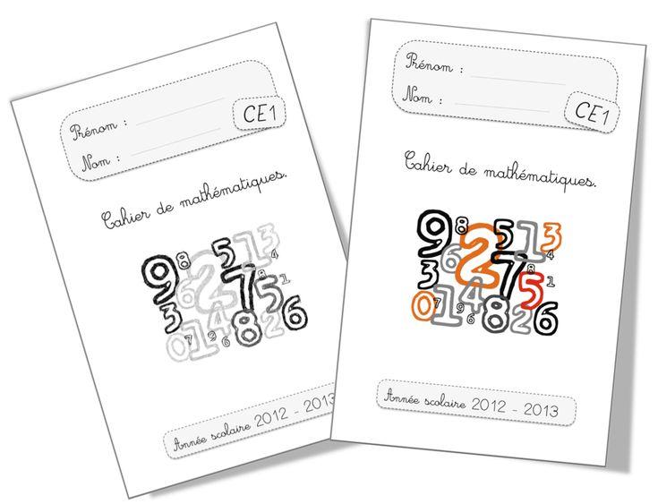 Pages de garde 2012-2013 CP et CE1 - Bout de gomme