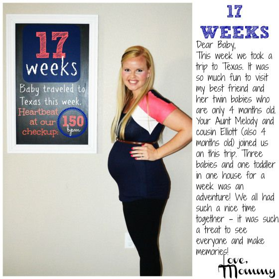 Baby #2 BUMP REPORT - 17 Weeks (With images) | 17 weeks ...