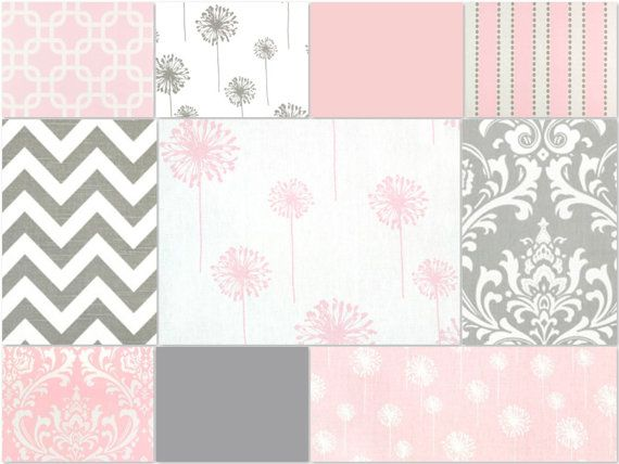 154 Best Images About Pink And Grey Nursery On Pinterest