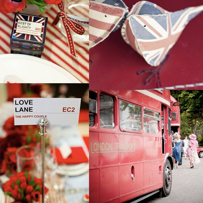 british wedding theme