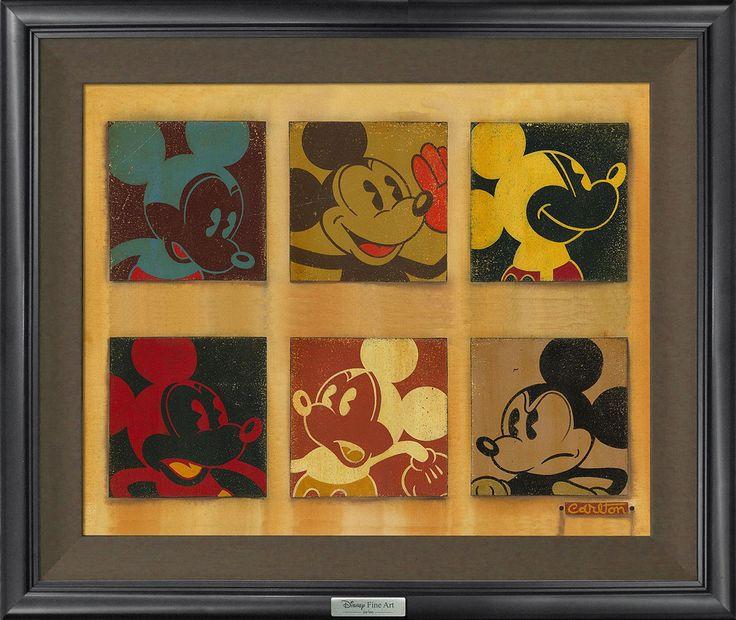 Mejores 43 imágenes de Disney Fine Art Silver Series | Framed ...