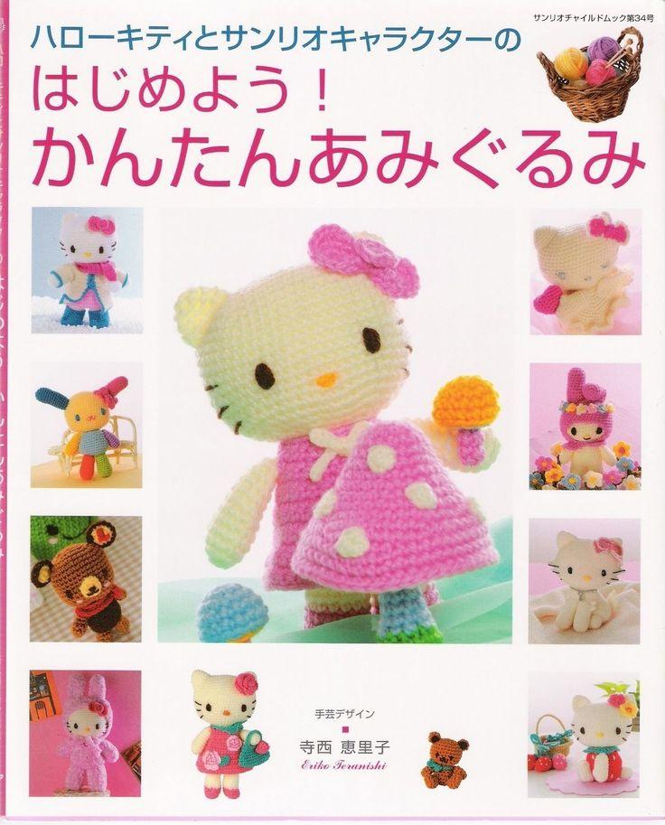 Hello Kitty Amigurumi Schema Italiano : Amigurumi, Hello kitty and Chats on Pinterest