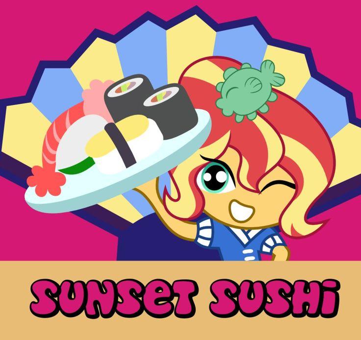 Sunset Sushi By Kingdark0001deviantartcom On DeviantArt