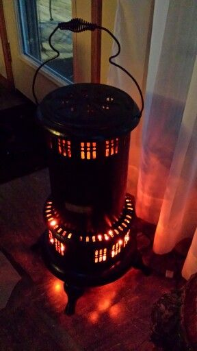 Pretty kerosene heater♥