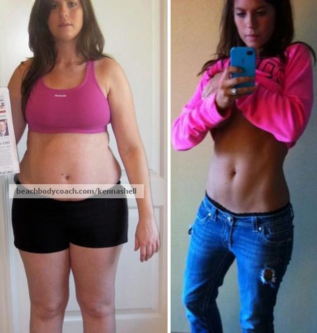 Kenna Shell - Amazing Weight Loss Transformation To Become ...
