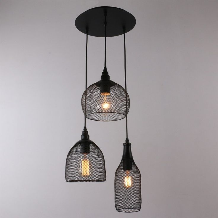 229 best images about light on pinterest ceiling pendant for Suspension multi ampoules