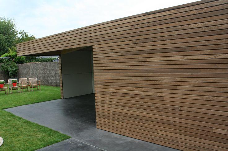bijbouw hout | Houten bijgebouwen PURE Gepolierde beton